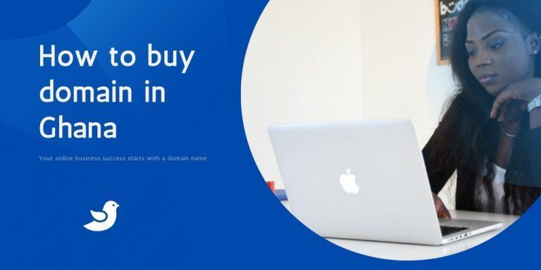 How to buy domain in Ghana